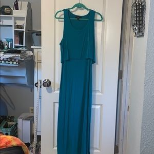 Mission maxi with side slits